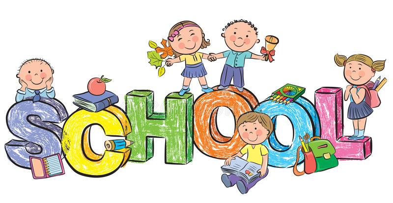 Afbeeldingsresultaat voor KInderen naar school